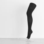 Voorbeeld van een beenkous met open teen