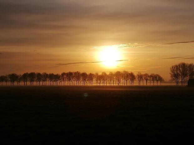 Opkomende zon